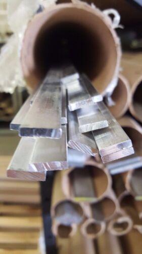 """3/16"""" x 1"""" Aluminum 6061 Flat Bar Mill Stock x 24"""" Long"""