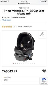PEG PEREGO Primo Viaggio SIP 4-35 Car Seat and base