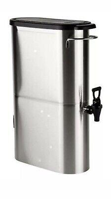 New Bunn Tdo-n-3.5 Commercial Grade Narrow Iced Tea Dispenser 3.5 Gallon