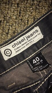 Wanted: Men's CHISEL jeans. Size 40