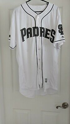 6ee99a22b687d2 Game Used Memorial Day Justin Hatcher San Diego Padres Jersey