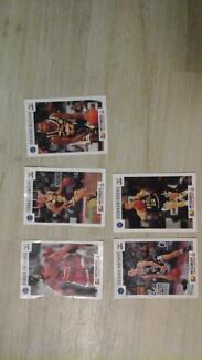 Tip Top NBL Trading Cards the lot for $1.00 Greenwith Tea Tree Gully Area Preview
