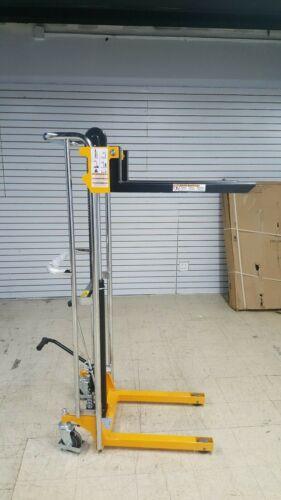 """Manual Lift Stacker 880 Lb. Cap. 59"""" Lift"""