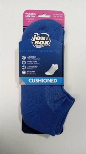 Jox Sox 1 Pack Low Cut Socks Women Ceil Blue 9-11 NEW