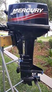 8 hp Mercury 2 stroke outboard short shaft motor Toronto Lake Macquarie Area Preview