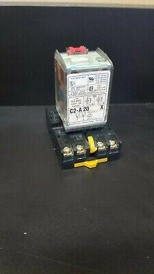 Releco Plug-in Relay W Socket C2-a20x