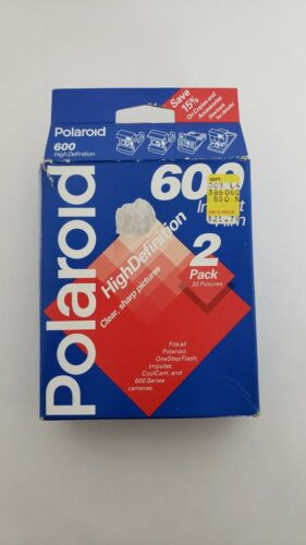 Polaroid High Definition 600 Film 10 Exposures, exp. 11/1995