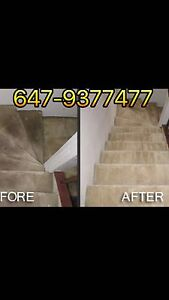 CARPET cleaning in GTA&MOVE in-MOVE out Cleaning services(etc
