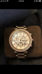 MUST GO! Michael Kors Rose Gold Watch