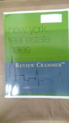 New York Real Estate Sales Review Crammer   Rare Book Isbn 9781598441239