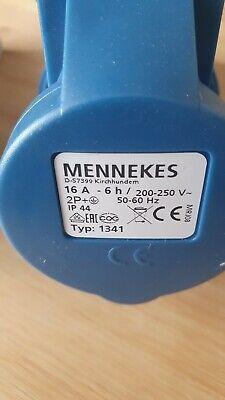 MENNEKES 1385 CEE Wandsteckdose 16A 5polig 400V 1St.