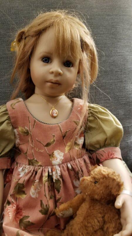 "Signed Heidi Plusczok Doll ""Nicole"""