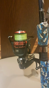 Rod And Reel used twice. Regents Park Auburn Area Preview