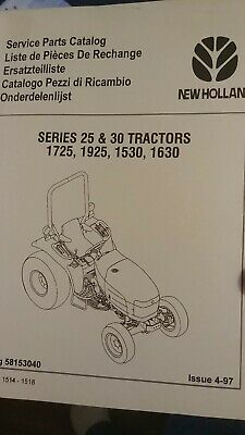 New Holland 1530163017251925 Tractor Parts Catalog