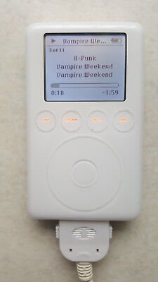 Apple Ipod 3g 40GB A1040 plus accessories and flash Upgrade kit