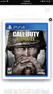 Call of Duty brand new sealed WW2 WWII  PS4 PlayStation 4