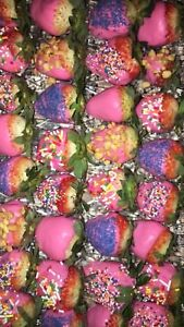 Chocolate covered strawberry/treats platter