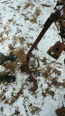Allis Chalmers G Master Lift Right Hand Lever Assembly