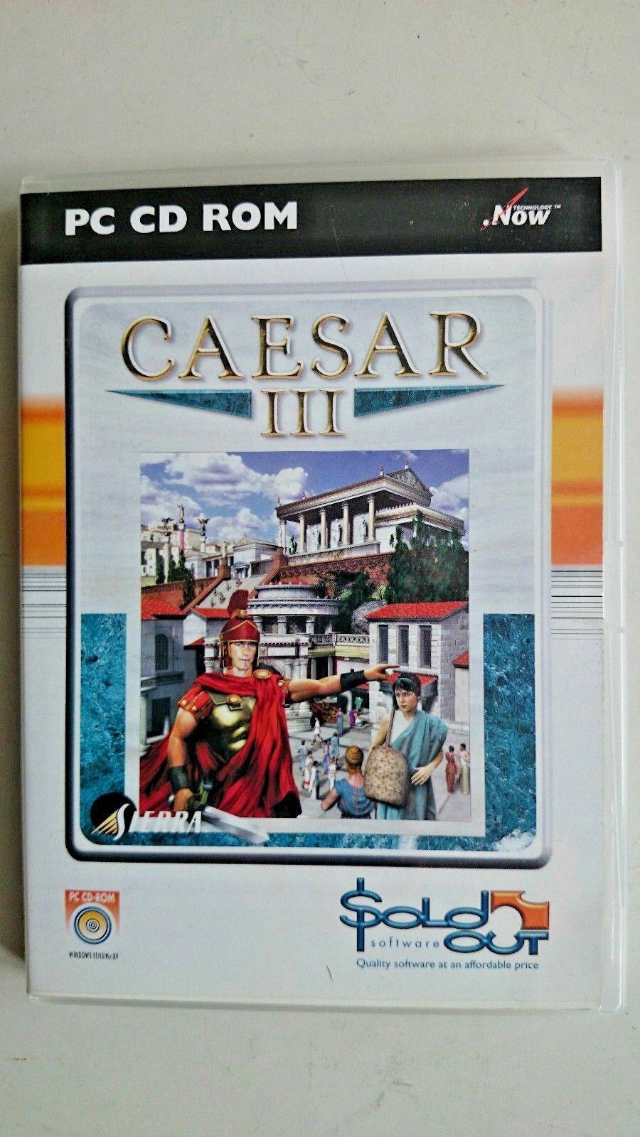 Caesar III (PC: Mac and Windows/ Windows, 1998)