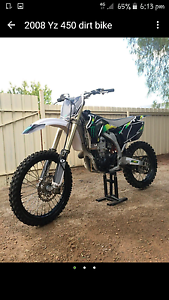 YZ450F 08 dirtbike Butler Wanneroo Area Preview