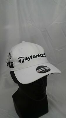 bc9543535f0b1 Men s TaylorMade Golf LiteTech Tour Authentic Adjustable Hat White M1   M2
