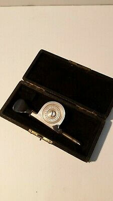 Vintage Starrett Speed Indicator Tachometer 104 In Original Box Athol Mass Usa