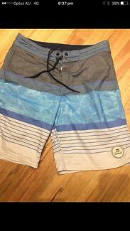 Billabong boys board shorts size 12