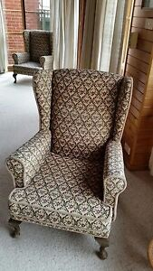 Wingback chairs Sandy Bay Hobart City Preview