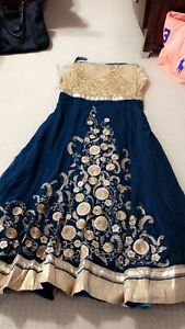 Brand new anarkali semi stitched