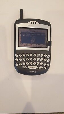7520 Blackberry (RARE BlackBerry 7520 Black NEXTEL Smartphone - Working Condition)