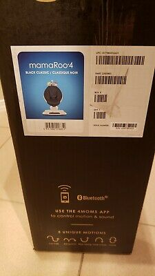 mamaRoo4 infant seat classic black