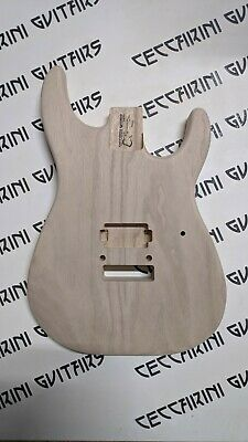 Raw Strat Body SOLOIST STRATOCASTER in PAULOWNIA Made in ITALY peso 1,3KG