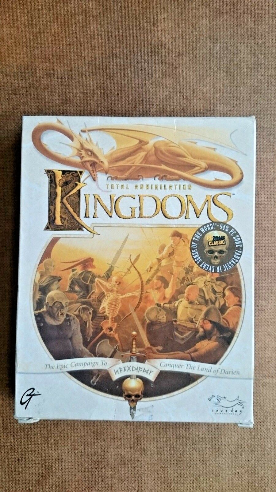 Total Annihilation: Kingdoms (PC: Windows, 1999) - Big Box Edition