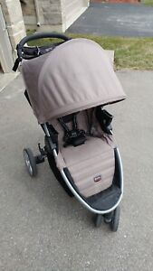 Britax B Agile stroller B Safe car seat w base & accessories