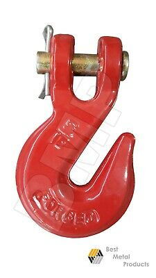 8516 Clevis Chain Grab Hook Wrecker Tow Truck Trailer Clevis Rigging 0900125