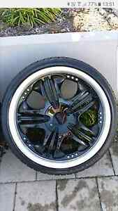 "18"" mags and tyres 4x100 multistud 215/35/18 Caversham Swan Area Preview"