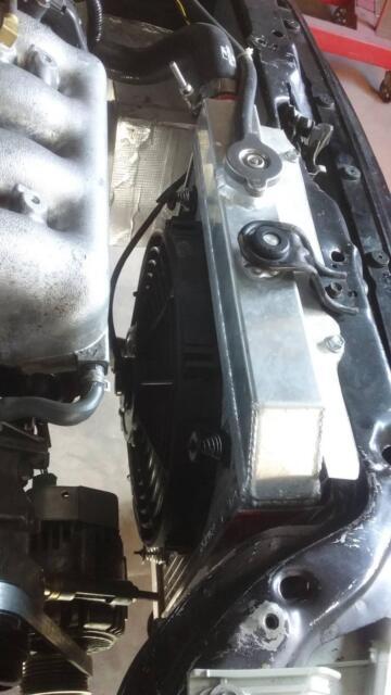 K20 eg conversion Radiator kit K tuned   Engine, Engine Parts