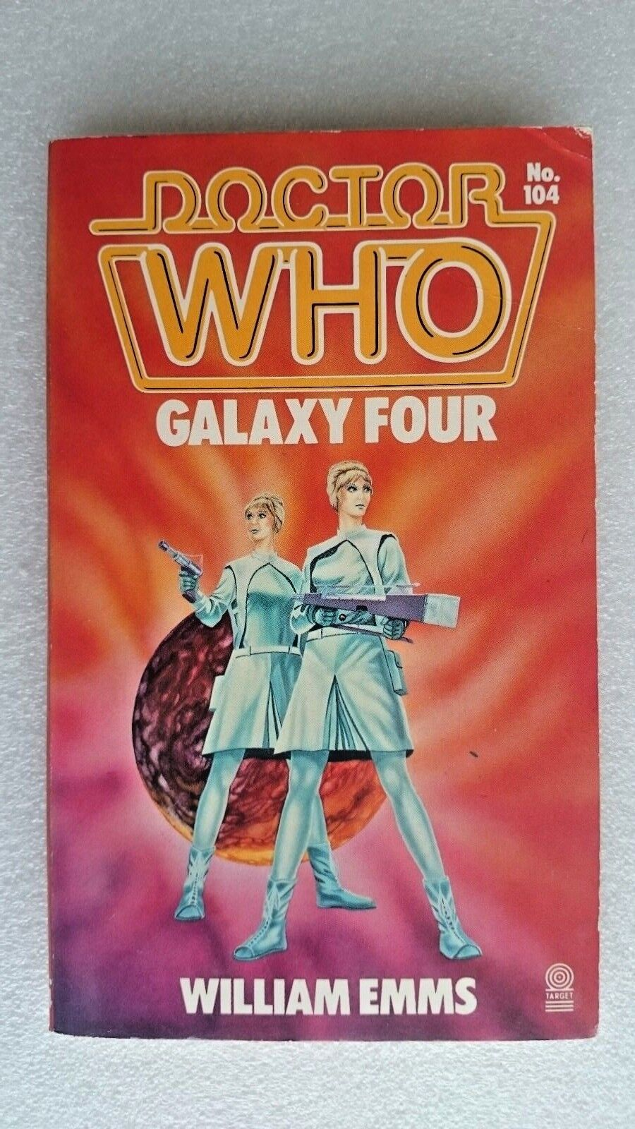 Doctor Who-Galaxy Four by William Emms (Paperback, 1986) - 1st Edition