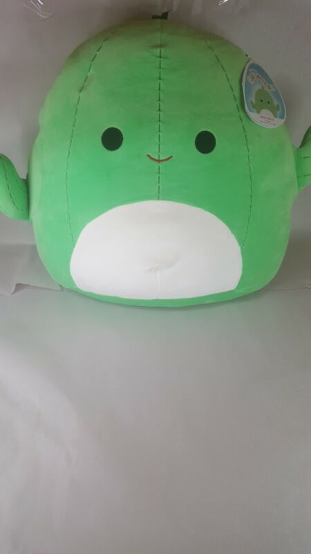 """Squishmallow Kellytoy Official 2021 Marcellus Cactus 16"""" Super Soft Plush NWT"""
