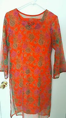 Одежда Salwar New Beautiful Printed Orange