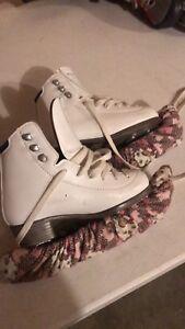Girls Riedelle Emerald Figure Skates
