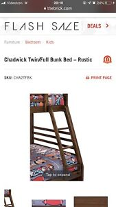 90% new bunk bed for sale!