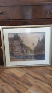 Beautiful Matted frame puctore