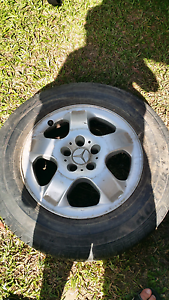 1 255/60r15 mercedes wheel in good condition Calamvale Brisbane South West Preview
