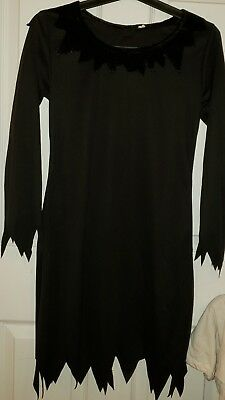 Dressing Goth For Halloween (TOTALLY GHOUL For Women GOTHIC BLACK  Dress HALLOWEEN COSTUME size Small)