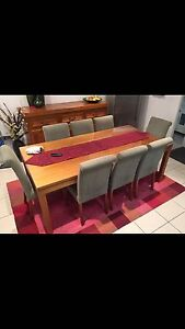 8 Seater Dining Table Seven Hills Blacktown Area Preview