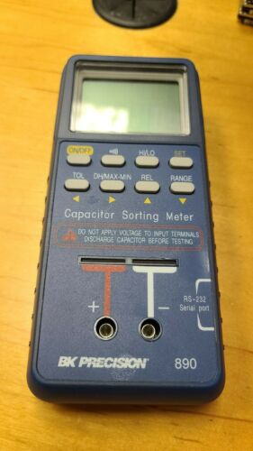 BK Precision 890 Capacitor Sorting Handheld Capacitance Meter