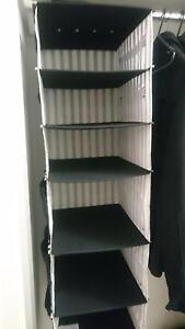 Wardrobe Hanging Storage Organiser Homebush West Strathfield Area Preview