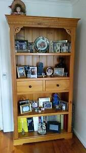Solid timber shelving with drawers Frankston Frankston Area Preview
