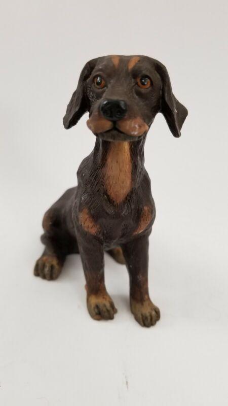 Vizsla? Dog Resin Figurine Handpainted